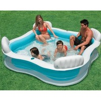 thumb-Intex familie lounge zwembad (229cm x 229cm x 66cm)-2