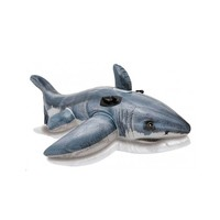 thumb-Intex white shark - opblaasbare haai-1