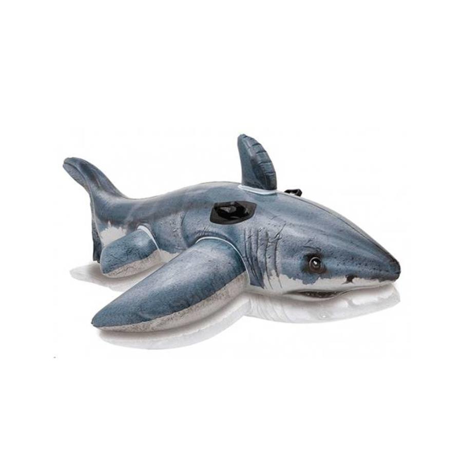 Intex white shark - opblaasbare haai-1