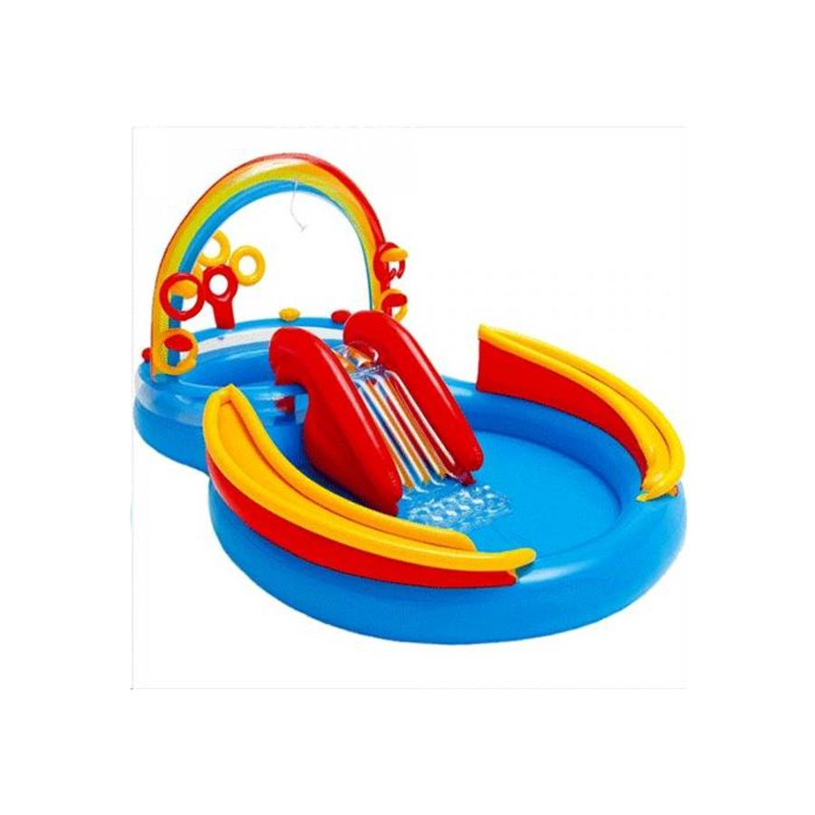 Intex regenboog speelzwembad-1