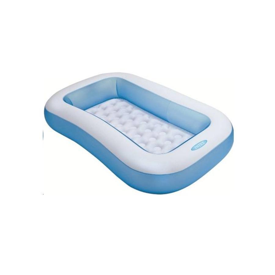 Intex rechthoekig kinderzwembad (166cm x 100cm x 28cm)-1