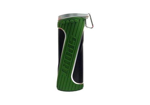 Bluetooth speaker groen - spatwaterbestendig