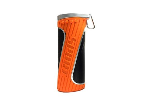 Bluetooth speaker oranje - spatwaterbestendig