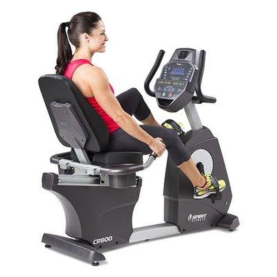 SPIRIT fitness CR800 Recumbent Hometrainer Professioneel