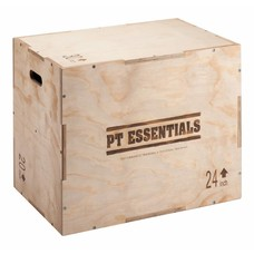 PTessentials PLYOPOWER Crossfit Houten Plyobox - direct leverbaar