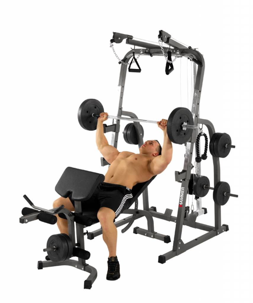 Hammer SOLID XP functional trainer + 76 kg.