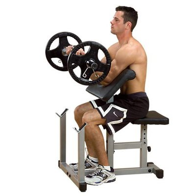 PowerLine PPB32X Preacher Curl Bench (Biceps)