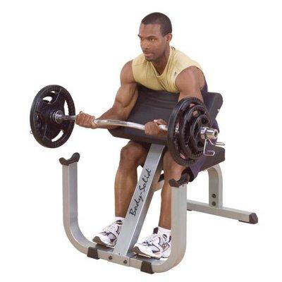 Body-Solid GPCB329 Preacher Curl Bench (Biceps) - Direct leverbaar