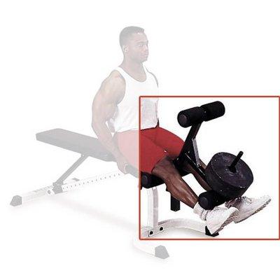 Body-Solid GLDA1 Leg Extension en Curl Attachment