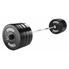 PTessentials CROSSFIT Bumperplate Halterset 120 kg
