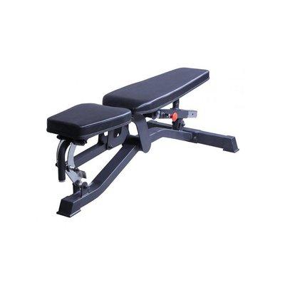 Lifemaxx LMX1055 Verstelbare Fitnessbank Black