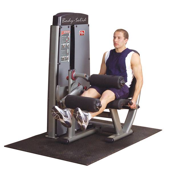 ProDualLine DLECSF Leg Extension & Curl Machine