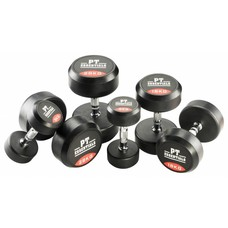 PTessentials SALE - PRO Ronde Rubberen Dumbbells 2 t/m 20 kg