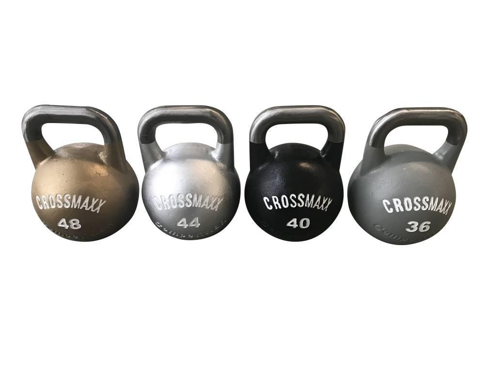 Crossmaxx LMX 88 Competition Kettlebell Studioset 8 t/m 48 kg