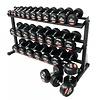 PTessentials PRO Ronde Rubberen Dumbbells | Set 32 t/m 40 kg