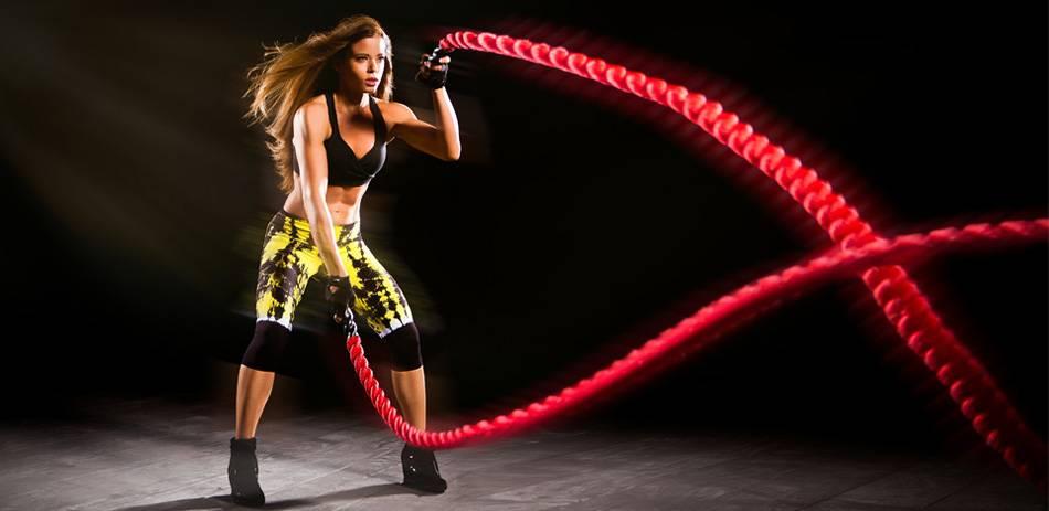 Battle Rope Oefeningen