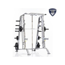 TuffStuff CSM-600 Basic Smith Machine - Half Cage