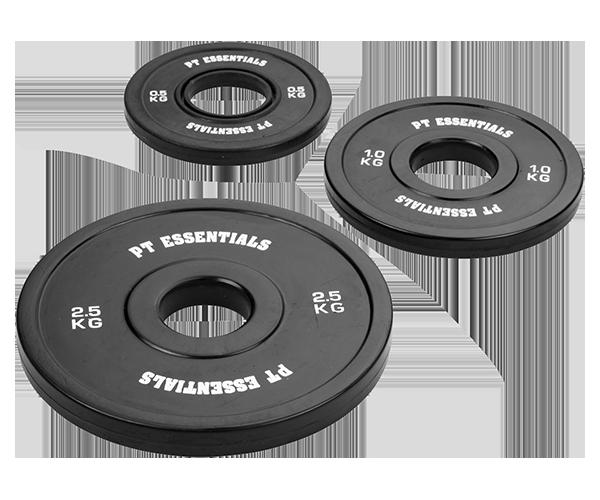 Elite Black Fractional Plates