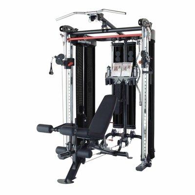 Inspire Fitness FT2 Functional Trainer Black met gratis Bench