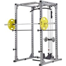 Steelflex GPR380 Power Rack + High and Low Pulley