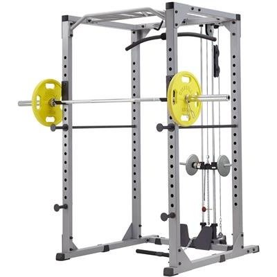 Steelflex GPR380 Power Rack + High and Low Pulley (95 kg)