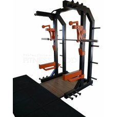 FP Equipment Half Rack met Lifting Plaform