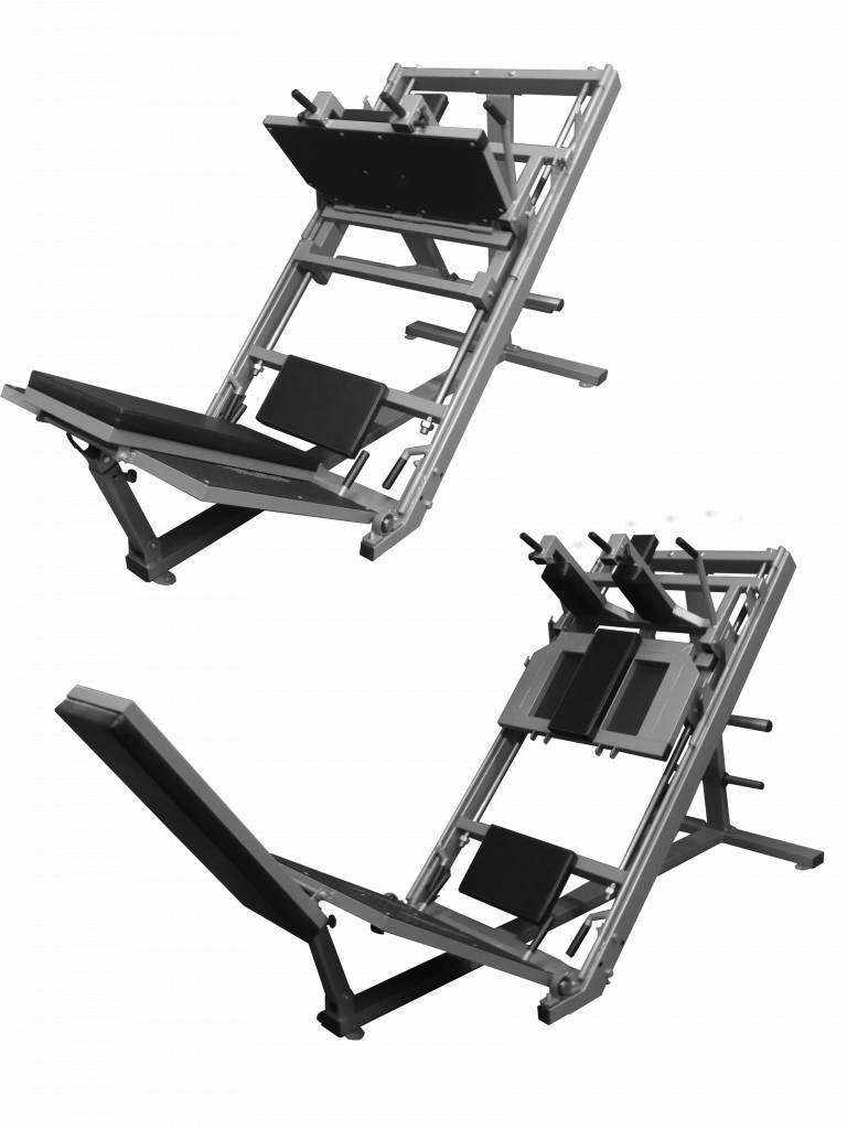 FP Equipment Leg Press and Hack Squat