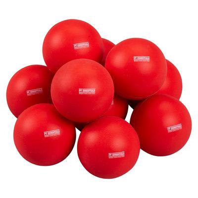 PTessentials LaCrosse Massagebal Rood - Set 10 stuks