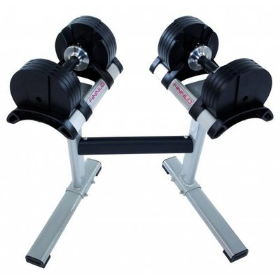 Finnlo SMARTLOCK Dumbbells 2 x 32 kg set incl. rack