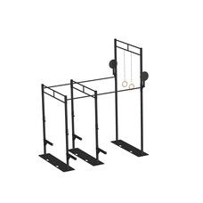 PTessentials Heavy Duty Crossfit Rig V19 - met Skidplates