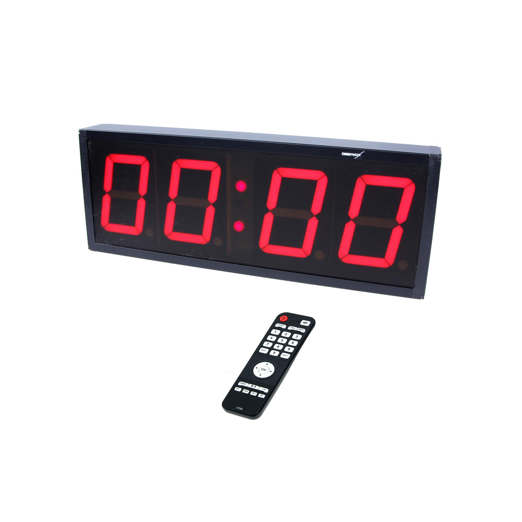 Crossmaxx LMX1282-1 4-Digit Interval Timer