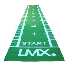 Lifemaxx Sprinttrack Groen met belijning - diverse afmetingen