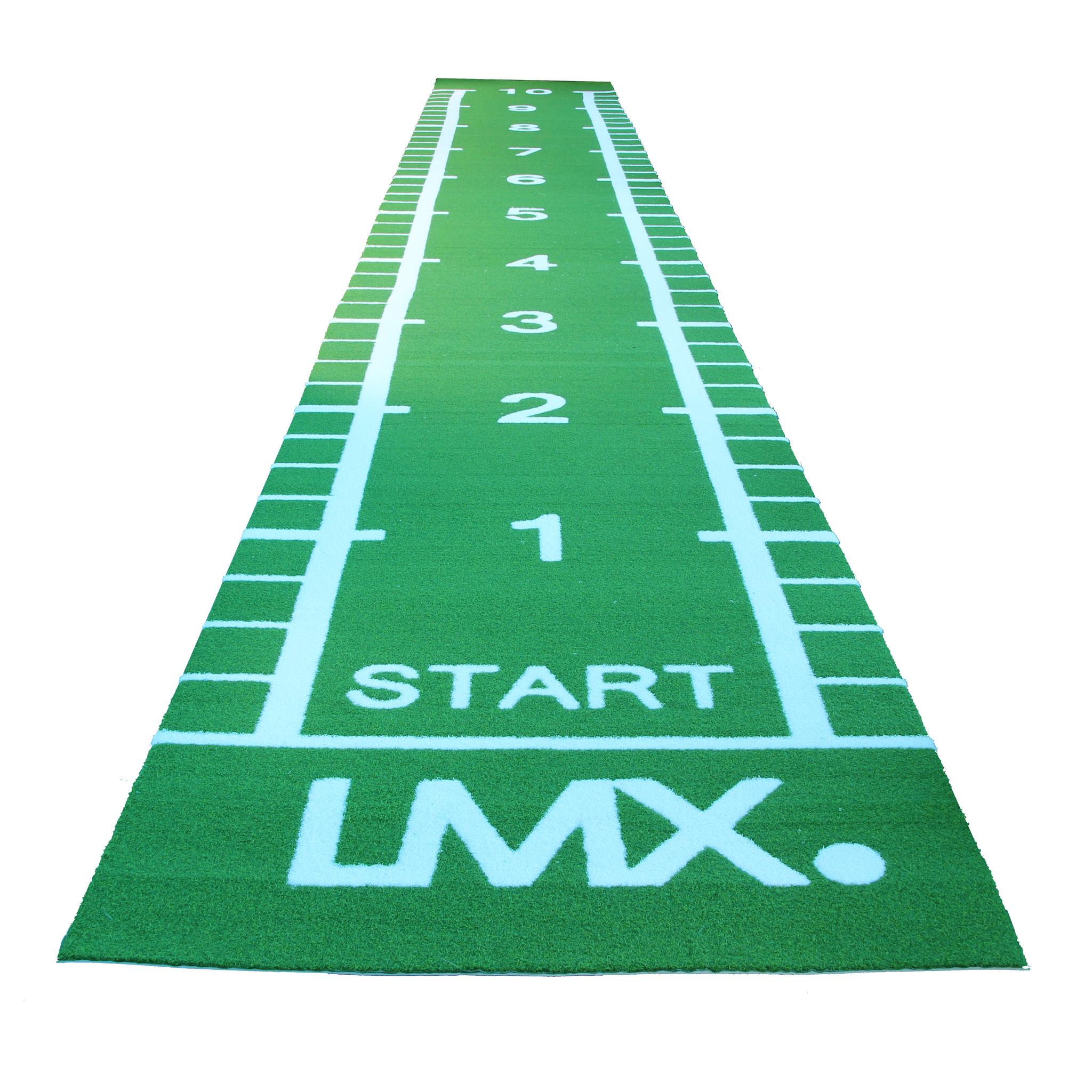 Lifemaxx Sprinttrack Groen met belijning diverse afmetingen