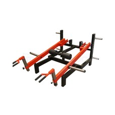 FP Equipment Shrug - Deadlift - Lunge Machine Plate Loaded