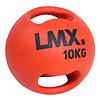 Lifemaxx LMX1250 Double Handle Medicine Ball