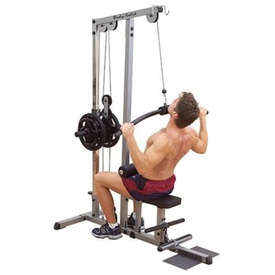 Body-Solid GLM83 Pro Lat Machine Plate-Loaded