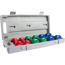 VirtuFit Dumbbellset in koffer - Vinyl dumbbells 0,5 t/m 1,5 kg