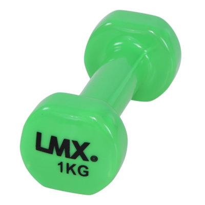 Lifemaxx LMX1150 Vinyl Aerobic Dumbells - per 2 stuks