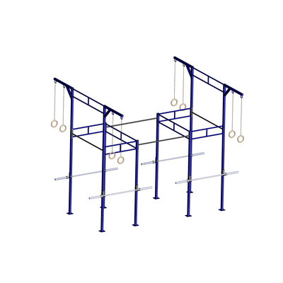 PTessentials Heavy Duty Crossfit Rig V24 - Blue Coloured Rig