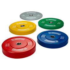 PTessentials CROSSFIT ECHO Coloured Bumperplates