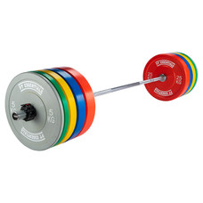 PTessentials CROSSFIT Coloured Bumperplate Halterset