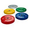 PTessentials CROSSFIT Coloured Bumperplate Halterset
