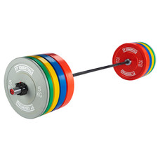 PTessentials CROSSFIT PRO Coloured Bumperplate Halterset