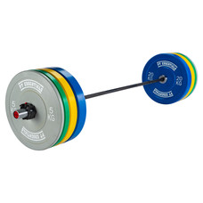 PTessentials CROSSFIT WOMENS PRO Coloured Bumperplate Halterset - verwacht tussen juni en juli