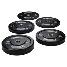 PTessentials CROSSFIT Black Bumperplates V2