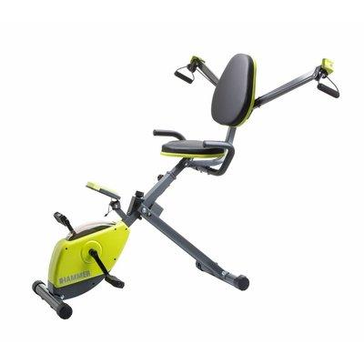 Hammer Fitness Wonderbike - Stoelfiets - Deskbike - met weerstandsbanden
