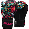 RDX Sports Bokshandschoenen FL-3 FLORAL - Zwart