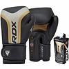RDX Sports T17 Ayra Bokshandschoenen - Zwart/goud