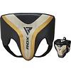 RDX Sports RDX T17 Aura Kruisbeschermer | Groin Guard - Zwart/goud