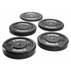 PTessentials CROSSFIT Black Bumperplates